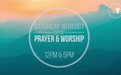 Day of Prayer and Worship – 16th October